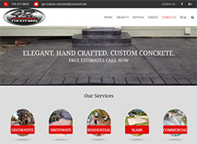decorative concrete colorado springs